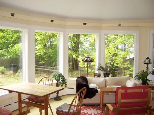 A New Sunroom Addition Great for relaxing and entertaining