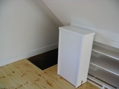 Custom Shelving shelving door closed