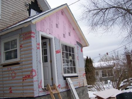 South Portland Warm Tight Addition Dense Pack Cellulose Insulation